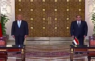 بعد قليل مؤتمر صحفي بين الرئيس السيسي ونظيره البرتغالي