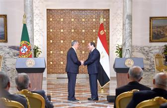 ننشر تفاصيل لقاء الرئيس السيسي بنظيره البرتغالي بقصر الاتحادية