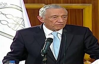"""الرئيس البرتغالي يصل جامعة الأزهر لإلقاء محاضرة بعنوان """"رؤية مُعلم ورئيس"""""""