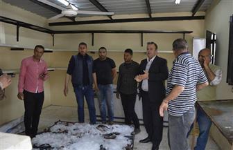 إقبال كبير من أبناء كفر الشيخ على شراء أسماك مزرعة بركة غليون في اليوم الأول لطرحه بالأسواق | صور