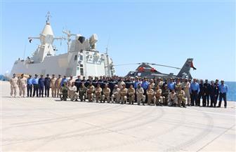 اختتام فعاليات التدريب البحري المصري -  الإماراتي المشترك (خليفة – 3) | صور