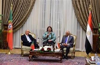 عبد العال يستقبل رئيس البرتغال في مقر مجلس النواب