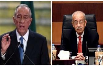 الرئيس البرتغالي لشريف إسماعيل: نسعى لزيادة التعاون مع مصر ونقدر جهودكم في مواجهة الإرهاب