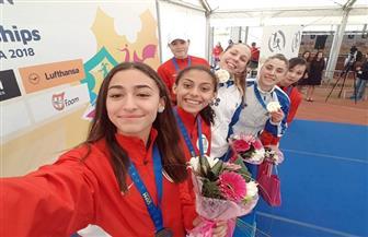 """مصر تحصد برونزية تتابع الفتيات ببطولة العالم للخماسي الحديث """"شباب""""   صور"""