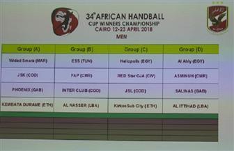 مباريات اليوم ببطولة إفريقيا للأندية لكرة اليد