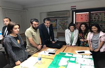 وزير التعليم العالي يتفقد أعمال تطوير مبنى الإدارة المركزية للطلاب الوافدين بمدينة نصر
