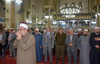 """الشعراوي يشهد احتفالية """"الإسراء والمعراج"""" بمسجد النصر في المنصورة   صور"""