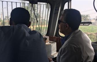 وزير النقل يتفقد محطة إدفو قبل وضع حجر الأساس لمشروع محور قوص نقاد