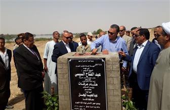 وزير النقل يضع حجر الأساس لإنشاء أول ميناء نهري بمحافظة قنا