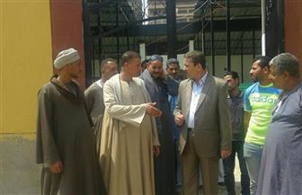 رئيس حي شرق مدينة نصر يتابع إنهاء تطوير سوق المنهل | صور