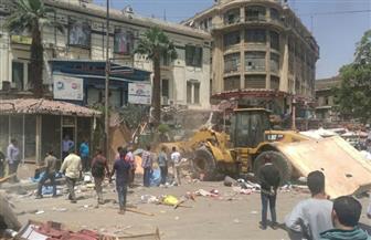 حملة أمنية بميدان العتبة | صور