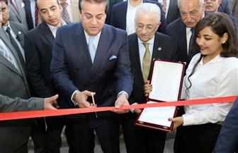 تفاصيل افتتاح وزير التعليم العالي أعمال تطوير معهد إعداد القادة بحلوان | صور