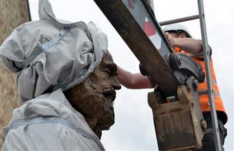 نصب تمثال ضخم لماركس في مدينة ترير مسقط رأسه بألمانيا احتفالا بـ200 عام على ميلاده   صور