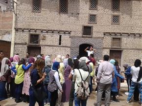 طلاب بجامعة القاهرة وإدارة الوعي بالغربية يزورون آثار فوة الإسلامية بكفر الشيخ | صور