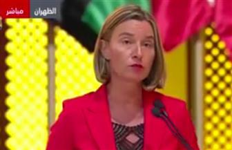 موجرينى: حل الأزمة السورية يجب أن يكون سلميا.. ومصر والأردن يبذلان جهودا كبيرة