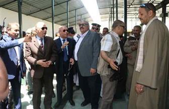 محافظ القاهرة يتفقد جراج روكسي لافتتاحه مايو المقبل| صور