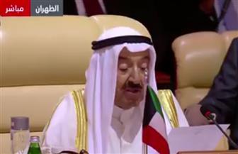 أمير الكويت: ما تقوم به إسرائيل انتهاك للقانون الدولي.. وعلى مجلس الأمن حماية المواطنين بغزة