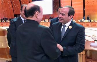 الرئيس السيسي يؤكد موقف مصر الثابت المساند للحكومة الشرعية في اليمن