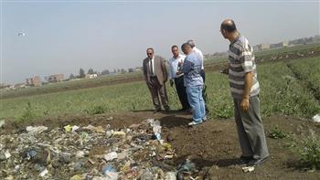 إغلاق مقلب قمامة في قطور بعد شكاوى المواطنين بتضررهم بيئيا | صور