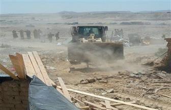 إزالة 82 حالة تعد على الأراضي الزراعية في أبوكبير بالشرقية