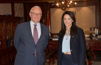 وزيرة السياحة تستقبل السفير الإيطالي بالقاهرة لبحث سبل تعزيز التعاون بين البلدين