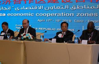 مميش وسفير بكين خلال مؤتمر صحفي: الرئيس السيسي ونظيره الصيني يفتتحان مؤتمرا للاستثمار في مصر قريبا