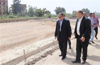 محافظ كفر الشيخ يتابع إنشاء موقف الأتوبيس الجديد بتكلفة 3 ملايين جنيه | صور