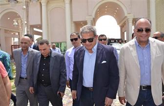 عبدالعزيز يتوجه إلى بورسعيد لتفقد المدينة الرياضية وحضور مباراة المصري ومونانا الجابوني