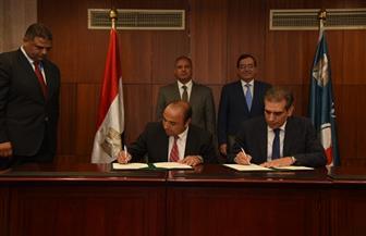 وزير البترول ومحافظ الإسكندرية يشهدان توقيع 3 بروتوكولات تعاون | صور