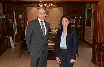 وزيرة السياحة تستقبل السفير الأسترالي لمناقشة سبل التعاون بين البلدين في المجال السياحي | صور