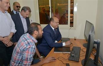 أبوزيد والعشري يتفقدان محطة مياه الرميلة 3 بمطروح | صور