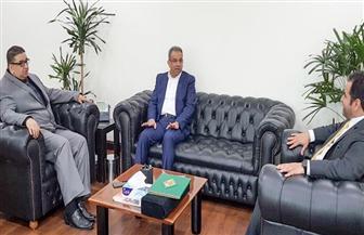 عصام الصغير يبحث مع نائب رئيس البريد السعودي تقديم خدمات متميزة للحجاج والمعتمرين المصريين