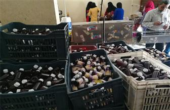 ضبط 22 ألف عبوة مكمل غذائي بمصنع عصير بنوسا البحر في الدقهلية   صور