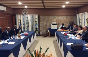 وزير خارجية بوروندي يؤكد لشكري دعم بلاده لموقف مصر تجاه قضية مياه النيل | صور