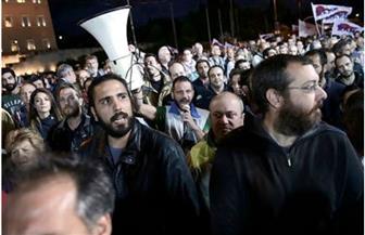 3000 شخص يتظاهرون في العاصمة اليونانية احتجاجا على ضرب سوريا