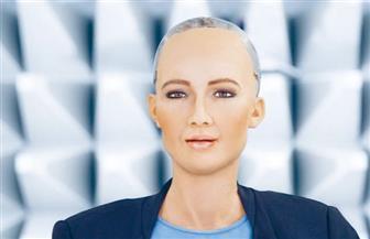الروبوت صوفيا تتحدث لأول مرة من القاهرة.. وتكشف السبب الحقيقى لزيارة مصر | فيديو