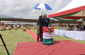وزير الخارجية يفتتح مركزا للغسيل الكلوى ومكتبة إلكترونية بسفارة مصر ببوروندى | صور