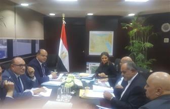 وزراء الاستثمار والتعاون الدولى  والزراعة ومحافظ مطروح في اجتماع لتقييم مشروعات الموائمة الصحراوية | صور