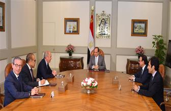 الرئيس السيسي يستقبل الرئيس التنفيذي لشركة أورانج