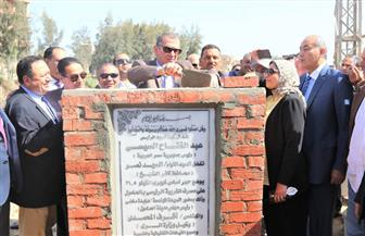محافظ كفرالشيخ يضع حجر أساس كوبري الحامول الجديد بتكلفة 6 ملايين جنيه| صور