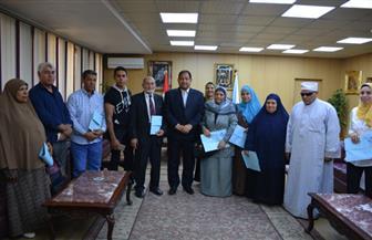 محافظ الغربية يكرم الفائزين في مسابقة القرآن الكريم بإذاعة البرنامج العام| صور