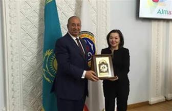 محافظ البحر الأحمر يبحث سبل تنشيط السياحة مع نائبة محافظة مدينة ألماتي الكازاخستانية|  صور