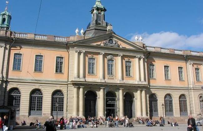 عضوة في أكاديمية نوبل السويدية تطلب الاستقالة -