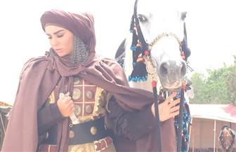 """أميرة سمير: تعلمت حمل السلاح من أجل """"هارون الرشيد"""""""