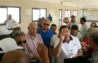 وفد لجنة الإدارة المحلية بمجلس النواب يتفقد مشروع الطاقة الشمسية بأسوان| صور