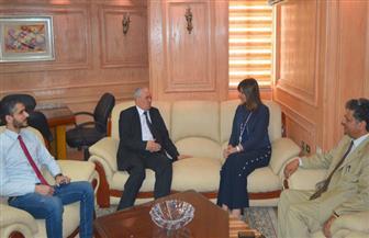 وزيرة الهجرة تبحث أوضاع العمالة المصرية مع وزير الدولة الليبي لشئون النازحين والمهجّرين| صور