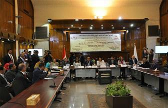 افتتاح المؤتمر العلمي الأول  للمعهد القومي للملكية الفكرية بجامعة حلوان | صور