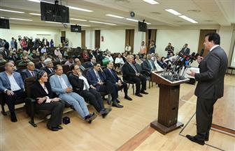 وزير التعليم العالي يدعو للتبرع إلى مستشفى أبو الريش الياباني| صور