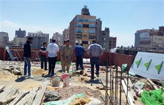 """""""أحياء الإسكندرية"""" تشن حملات ضد """"الأبنية المخالفة""""   صور"""