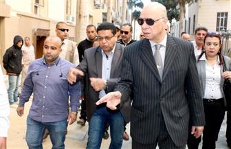 عبد الحميد يتفقد تطوير منطقة البورصة ضمن مشروع القاهرة الخديوية | صور